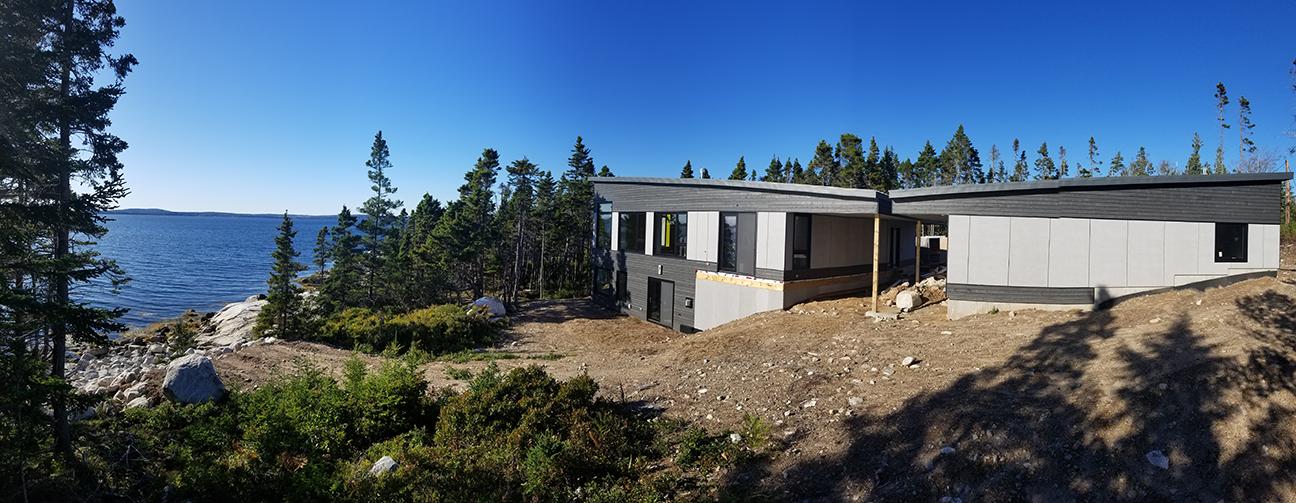 Atlantic coast passive house sawlorbuit homes passivehouseproject halifax novascotia panoramicview sm
