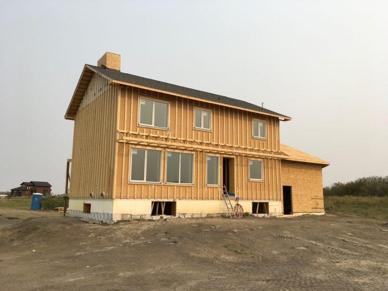 Grasswood estates passive house