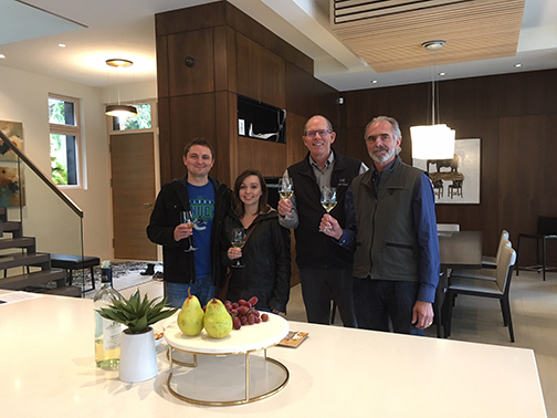 Alex and Julie, winners of the IBC Vanc 2017 with karel Jonkers and Mattheo Durfield in Whistler PH-sm
