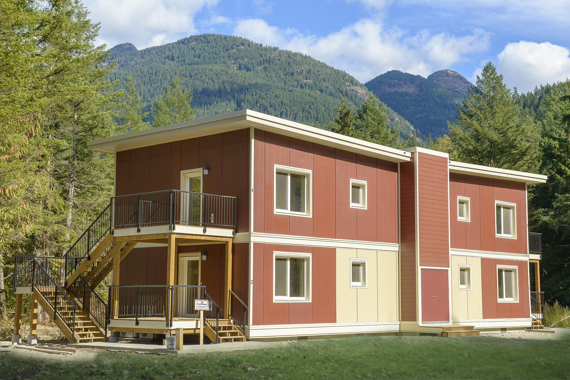 Yale First Nation Passive House Fourplex Passive House