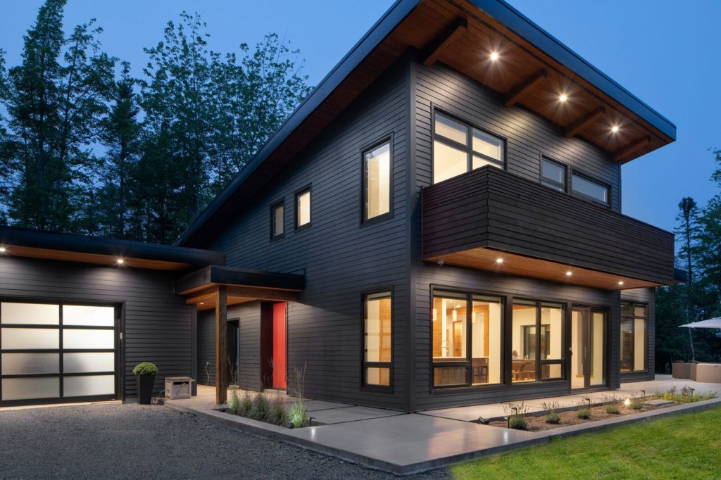 Canmore East Modern Luxury Passive House Living Passive
