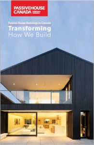 Passive House Buildings in Canada Book