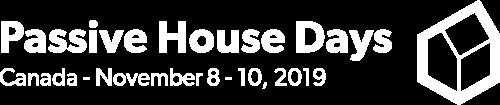 Passive House Days