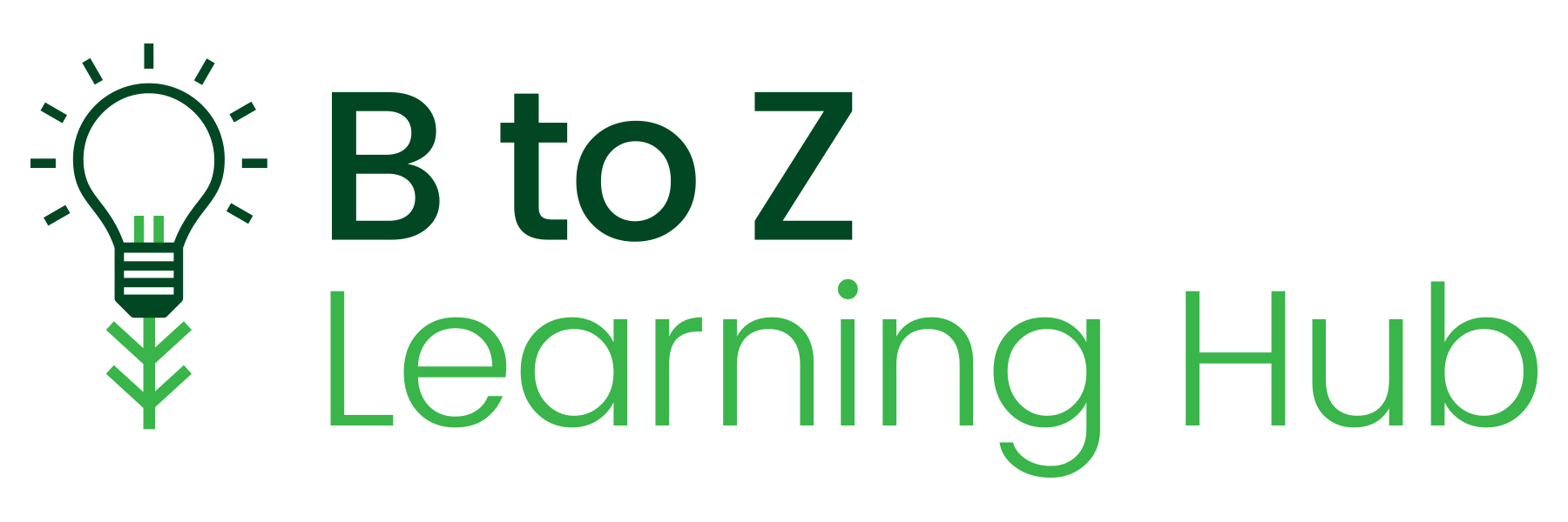 B to Z Learning Hub logo