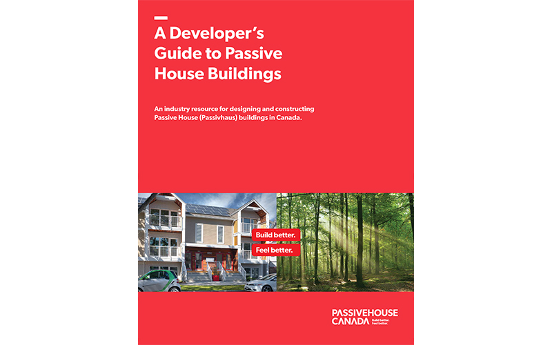 A Developer's Guide to Passive House Buildings