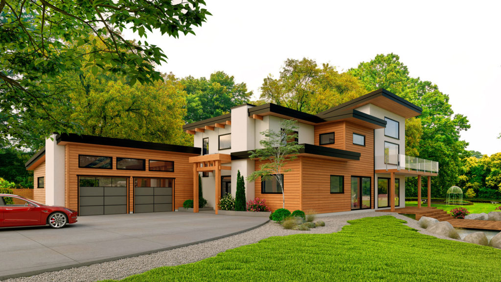 Azhena Project, a passive house project in Nanaimo, British Columbia