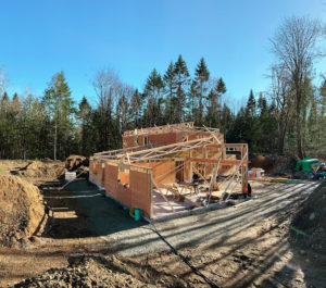 Construction of Azhena Project in Nanaimo, British Columbia